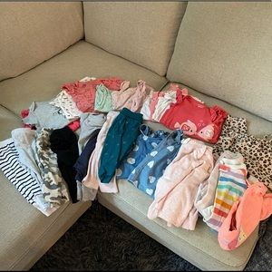 Gently used baby clothes 6mth-12mth